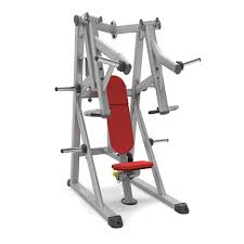 plate loaded incline chest press indigo fitness