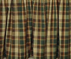 Green Plaid Shower Curtain Shower Curtains Pine Hill Collections