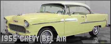 1955 chevrolet bel airfactory paint colors