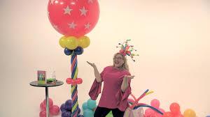 circus balloon circus theme balloon tower diy tutorial