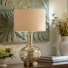 dynia gold crackle mercury glass table lamp kirklands