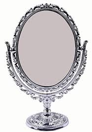 buy fully oval shaped makeup mirror for girls u0026 women decorative