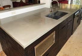 how to build a concrete sink amazing silver color kitchen concrete countertops double bowl