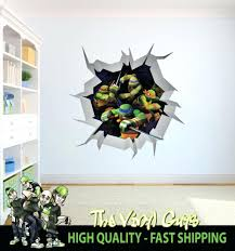 wall ideas ninja turtles 5 pieces set canvas wall art home
