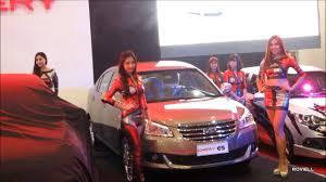 chery chery motors manila international auto show 2014 mias qq3 e5