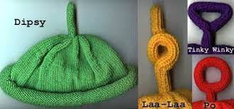 free knitting pattern teletubbie hats u0026 costume idea