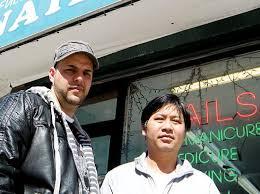 pals give lift to robbed nail salon owner ny daily news