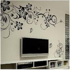 home decor 3d hot diy wall art decal decoration fashion romantic flower wall