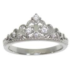 eternally haute sterling silver pave cubic zirconia princess kate - Overstock Engagement Rings