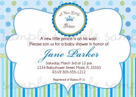 a new prince baby shower prince baby shower invitation cimvitation