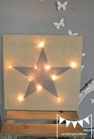 veilleuse chambre bébé tableau veilleuse étoile gris décoration chambre bébé enfant