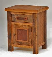 Storage End Table Barnwood End Table Reclaimed Wood End Table Storage End Table