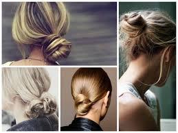 low knotted bun hair world magazine