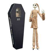 nightmare before in pajamas coffin figure