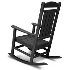 White Slat Rocking Chair by Polywood Reg All Weather Presidential Rocker Home Furniture