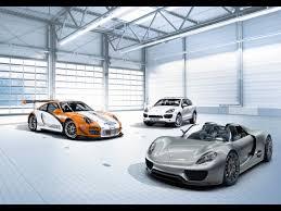 Porsche 918 Hybrid - 2010 porsche 918 spyder concept 911 gt3 r hybrid and cayenne s