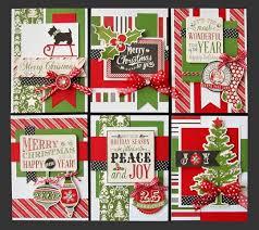 christmas cheer card kit kim u0027s card kits handmade christmas