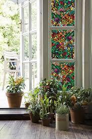 Decorative Window Film Stained Glass Decorative Window Film Spruce Up Old Windows