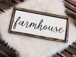 farmhouse sign farmhouse decor farmhouse wood sign framed