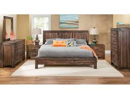 slumberland prairie collection brown 5pc queen room package