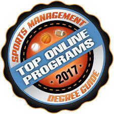 top 15 best sports management degree online programs 2017 sports