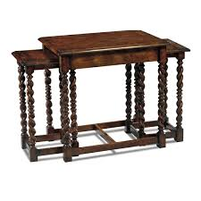 country english style nesting coffee table english antiques