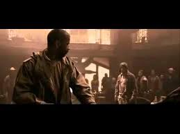 Book Of Eli Blind Or Not The Book Of Eli Bar Fight Scene Youtube