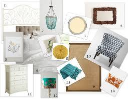 inspiration board u2013 guest bedroom makeover