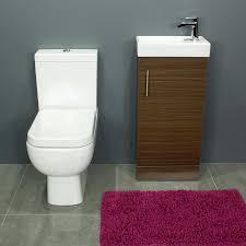 rak series 600 toilet and 400 series walnut vanity unit
