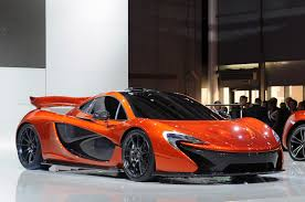 mclaren p1 concept meet the supercars from 2012 paris motor show