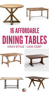 affordable dining tables that don u0027t skimp on style designer