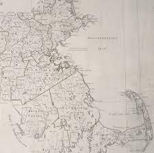 Map Of Ma Landmark Osgood Carleton Map Of Massachusetts Rare U0026 Antique Maps