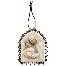 willow tree embrace metal edged ornament by susan