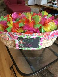 hawaiian luau birthday lei sign by celebrations by maria kids