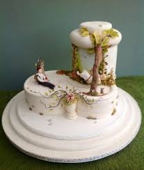 this cake received a gold medal at the cake international