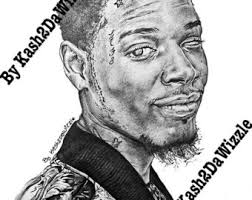 stormzy uk rapper drawing