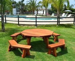 octagon picnic table plans with umbrella hole octagonal picnic table hexagon picnic table plans with umbrella