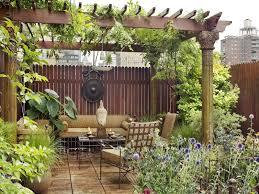 Bamboo Garden Design Ideas Terrace Garden Design Ideas Wooden Container Garden On White