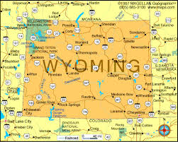 map of thermopolis wyoming map