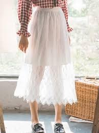flowy maxi skirts white flowy maxi skirt ericdress com