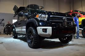 Toyota Tundra Diesel 2014 Toyota Brings Ultimate Tailgating Truck To Sema Autoguide Com News