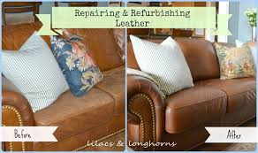 how to fix a sagging sofa repairing and refurbishing leather furniture lilacs and