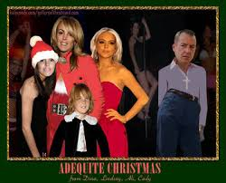 gallery of the absurd celebrity family photo christmas cards the