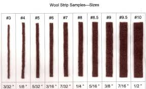 Rug Measurement For Those Who Want To Know What Each Numbered Cut Strip Size Means