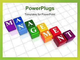 management powerpoint templates management presentation template