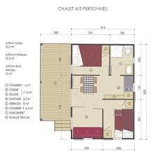Chalet Bungalow Floor Plans by Chalets For 4 To 5 Camping Golfo Di Sogno à Porto Vecchio En Corse