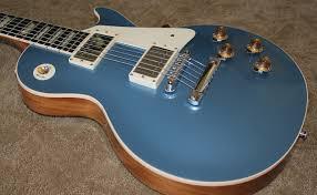 light blue gibson les paul my new pelham blue historic les paul