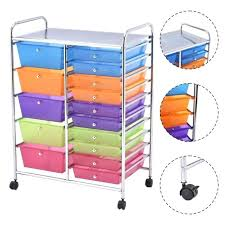 ikea storage cart rolling storage cart as drawer mobile organizer assorted rolling
