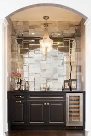 mirrored kitchen backsplash mirrored backsplash in butler s pantry b a r s