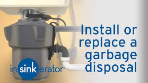 how to install remove a garbage disposal insinkerator youtube